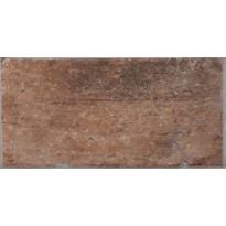Lattialaatta LPC Depot Terracotta, 10x20cm, Chicago tekstillä, punainen