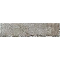 Lattialaatta LPC Living Brick 16 Savunharmaa, 6x25cm