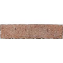 Lattialaatta LPC Living Brick 17 Terracotta, 6x25cm, ruskea