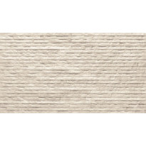 Seinälaatta LPC Strip 100 Norsunluu, 31,5x56,5cm