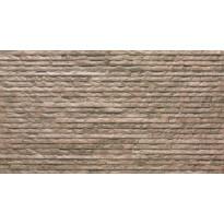 Seinälaatta LPC Strip 100 Ruskea, 31,5x56,5cm