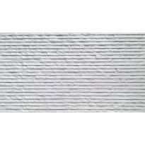 Seinälaatta LPC Strip 100 Valkoinen, 31,5x56,5cm