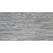 Seinälaatta LPC Strip 100 Harmaa, 31,5x56,5cm