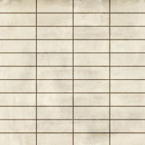 Mosaiikkilaatta LPC Living Beige, 2,7x7,5cm, verkolla