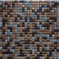 Mosaiikkilaatta LPC Olos Mix, 1,2x1,2cm, verkolla, liila