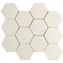IOT Stoneworld Ice Hexagon 10X10 Leikattu Verkolla (IC10EXO)