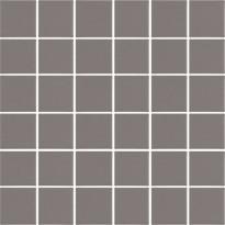 Mosaiikkilaatta LPC Art Flat 7002, 4,7x4,7cm, verkolla, ruskea