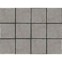 Lattialaatta LPC Tudor Grey, 10x10cm, liimatäpläarkki, harmaa