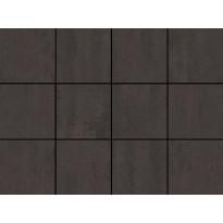 Lattialaatta LPC Minimal Anthracite, 10x10cm, liimatäpläarkki, harmaa