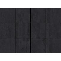Lattialaatta LPC Minimal Nero, 10x10cm, liimatäpläarkki, harmaa