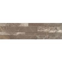 Seinälaatta LPC Murales Pähkinänruskea, 15x61cm