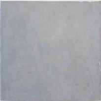 Seinälaatta LPC Porto Sininen, 20x20cm, laineileva, kiiltävä