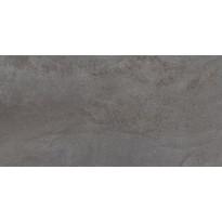 Lattialaatta LPC Factory Yönmusta, 29,7x59,7cm, tasapintainen, matta