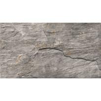 Seinälaatta LPC Piedra Grafiitti, 31x56cm, strukturoitu, matta harmaa, myyntierä 13,31m², Verkkokaupan poistotuote