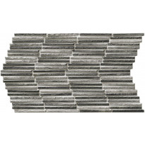Seinälaatta LPC Tundra Harmaa, 31x56cm, kohokuvioinen, matta