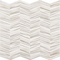 Seinälaatta LPC Serenade Valkoinen, 44x44cm, kohokuvioinen, matta