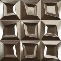 Seinälaatta LPC Squares Antrasiitti, 33x33cm, kohokuvio, matta, valesauma