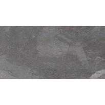 Lattialaatta LPC Slate St Antrasiitti, 50x100cm, tasapintainen, matta harmaa