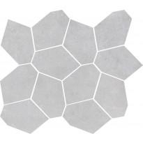 Mosaiikkilaatta LPC Cementi Honeycomb Tuhka, 30x30cm, matta