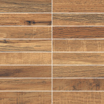 Mosaiikkilaatta LPC Amazonia Pähkinä, 3.4x14.7cm, matta