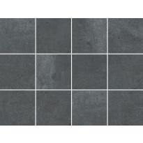 Lattialaatta LPC Berlin Anthracite, 10x10cm, matta