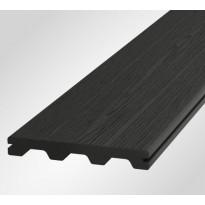Terassilauta Onewood Nordic, 150x20x4200mm, puukomposiitti, tummanharmaa