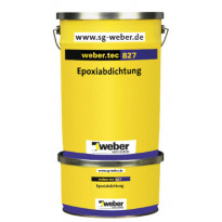 Epoksivedeneriste Weber Tec 827 S 8 kg