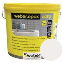 Epoksisaumalaasti Weber Epox Easy, Pure white, 5kg