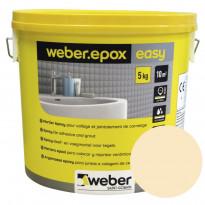 Epoksisaumalaasti Weber Epox Easy, Cream, 5kg