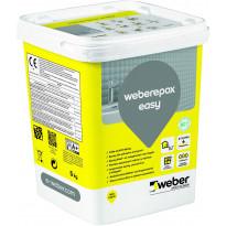 Epoksisaumalaasti Weber Epox Easy, Steel grey, 5kg