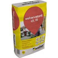 Ohutsaumalaasti Weber Vetonit OL 15 25 kg