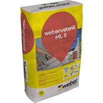 Muurauslaasti Weber Vetonit ML 5 Mutus 152 25 kg
