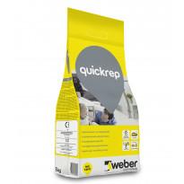 Korjaus- ja täyttötasoite Weber QuickRep, nopea, 5 kg