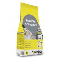 Askartelubetoni Weber Hobby Concrete, 5 kg