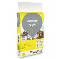Korjaus- ja tasoituslaasti Weber Outdoor Repair, 15 kg
