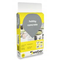 Askartelubetoni Weber Hobby Concrete, 15 kg