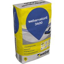 Viimeistelytasoite Weber Vetonit 3400, 15 kg