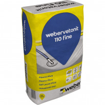 Betonilattiatasoite Weber Vetonit 110 Fine Plaano Plus, 20kg
