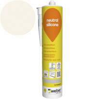 Silikonimassa Weber Neutral Silicone, 12 Marble, 310 ml