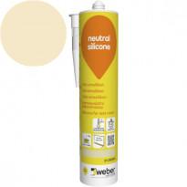 Silikonimassa Weber Neutral Silicone, 31 Cream, 310 ml