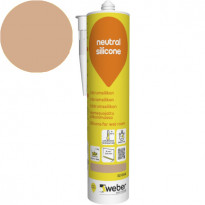 Silikonimassa Weber Neutral Silicone, 32 Oak, 310 ml