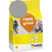 Saumalaasti Weber Rapid Grout, 15 Concrete, 3 kg