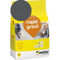Saumalaasti Weber Rapid Grout, 19 Anthracite, 3 kg