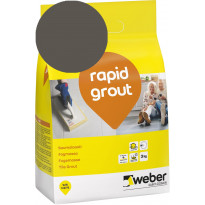 Saumalaasti Weber Saint-Gobain rapid grout, 37 Chocolate, 3kg