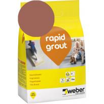 Saumalaasti Weber Rapid Grout, 39 Brick, 3 kg