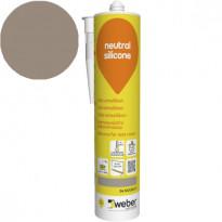 Silikonimassa Weber Neutral Silicone, 34 Nougat, 310 ml