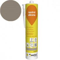 Silikonimassa Weber Neutral Silicone, 35 Khaki, 310 ml