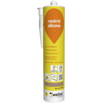Silikonimassa Weber Neutral Silicone, 38 Leather, 310 ml