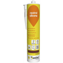 Silikonimassa Weber Neutral Silicone, 39 Brick, 310 ml