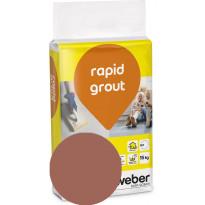 Saumalaasti Weber Rapid Grout, 39 Brick, 15 kg